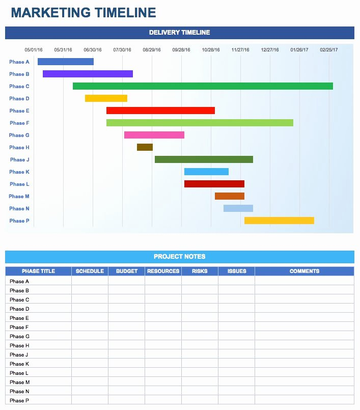 Marketing Plan Template Excel Unique Free Marketing Plan Templates for Excel Smartsheet