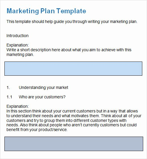 Marketing Plan Template Pdf Beautiful 27 Plan Templates