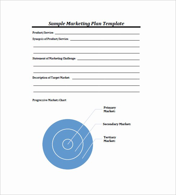 Marketing Plan Template Pdf New 11 Simple Marketing Plan Template Free Sample Example