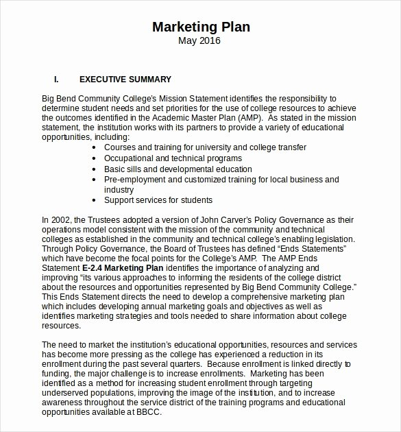 Marketing Proposal Template Word Awesome 18 Microsoft Word Marketing Plan Templates