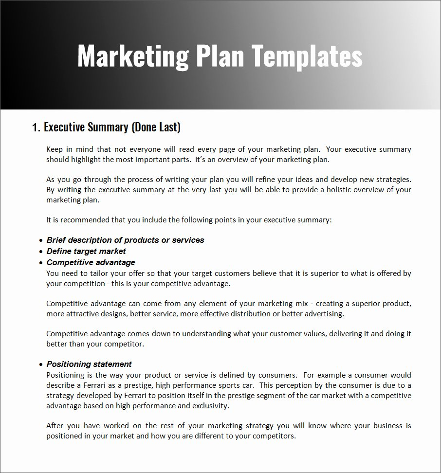 Marketing Proposal Template Word Awesome 32 Free Marketing Strategy Planning Template Pdf Ppt