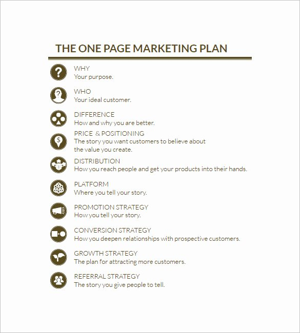 Marketing Proposal Template Word Fresh 19 Simple Marketing Plan Templates Doc Pdf
