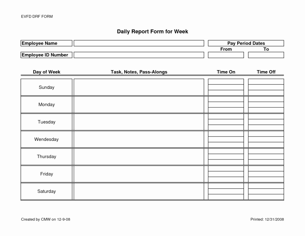 Marketing Report Template Word Fresh Monthly Marketing Report Template and Daily Activity