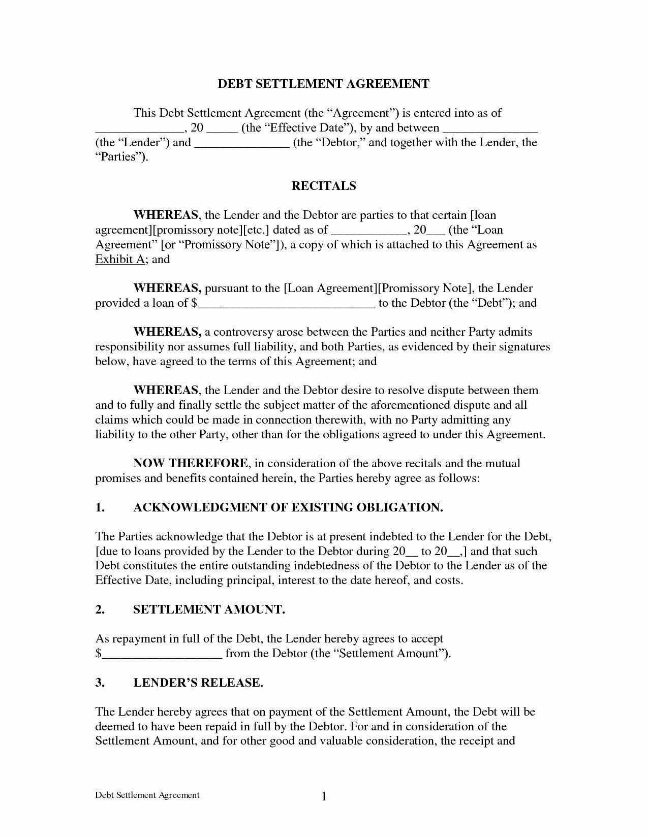 Marriage Settlement Agreement Template New Marriage Settlement Agreement Template Good Agreement Debt