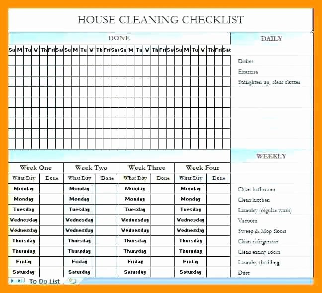 Master Cleaning Schedule Template Beautiful Cleaning Schedule Templates Warehouse Master Template