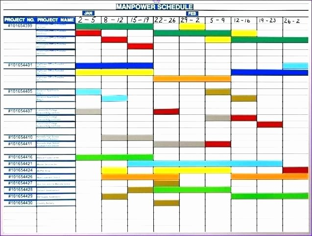 Master Production Schedule Template Excel New Excel Production Schedule Template Free Version Production