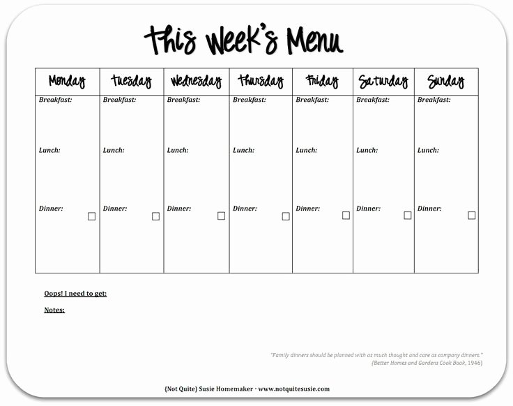 Meal Plan Calendar Template Awesome Best 25 Meal Planning Templates Ideas On Pinterest