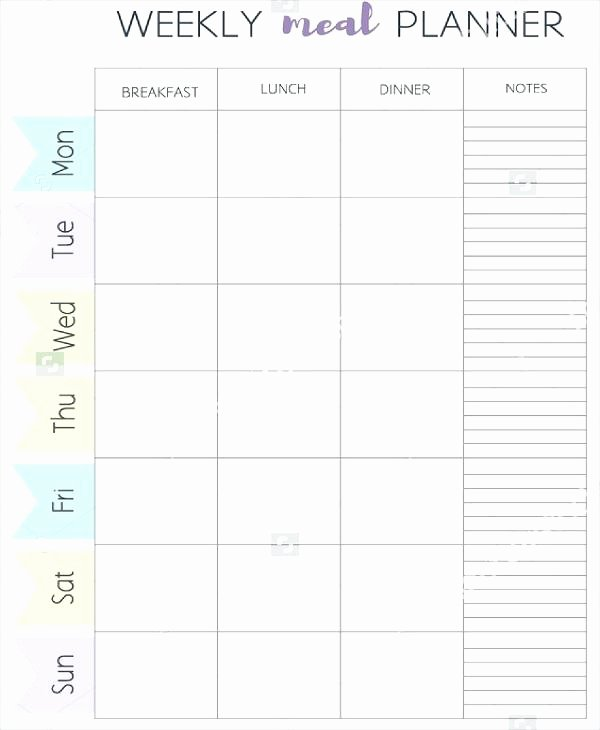 Meal Plan Calendar Template Best Of Meal Plan Calendar Template Editable Planner Ideas Free