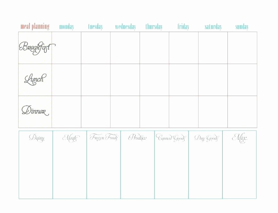 menu planner free printable monthly meal planning calendar