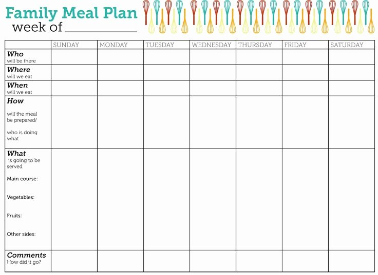 Meal Plan Calendar Template Fresh the 25 Best Meal Plan Templates Ideas On Pinterest