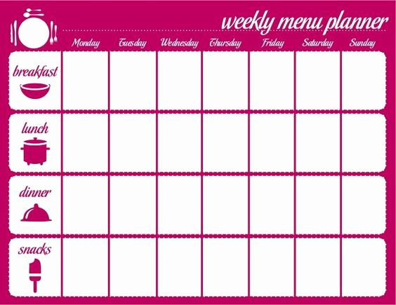 Meal Plan Calendar Template Lovely Meal Plan Calendar Template Google Search