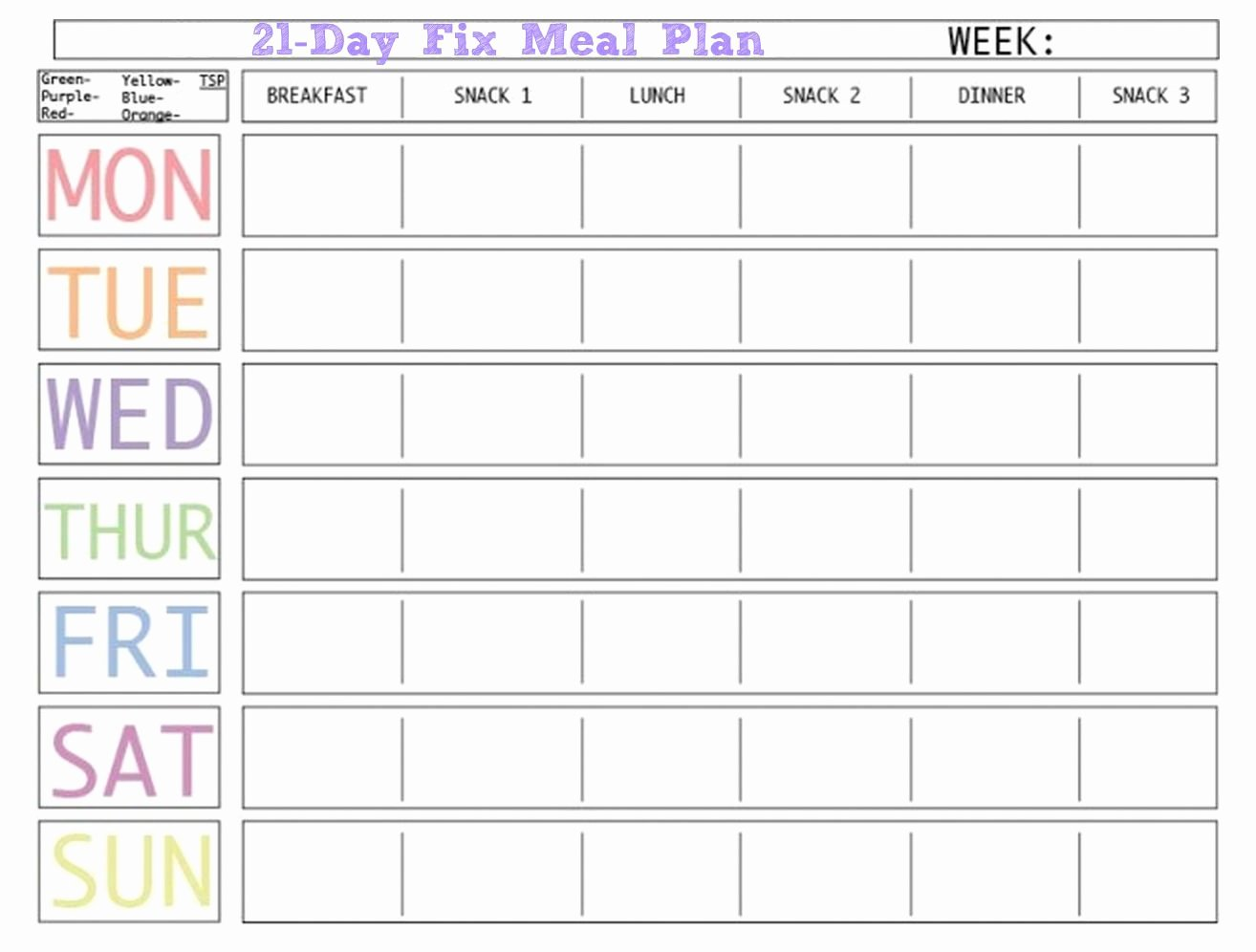 Meal Plan Calendar Template Luxury Here is A Blank Meal Plan Template You Can Use Diet Plan