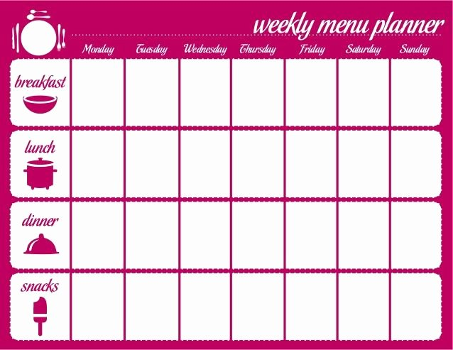 Meal Plan Calendar Template Luxury Meal Plan Calendar Template Google Search