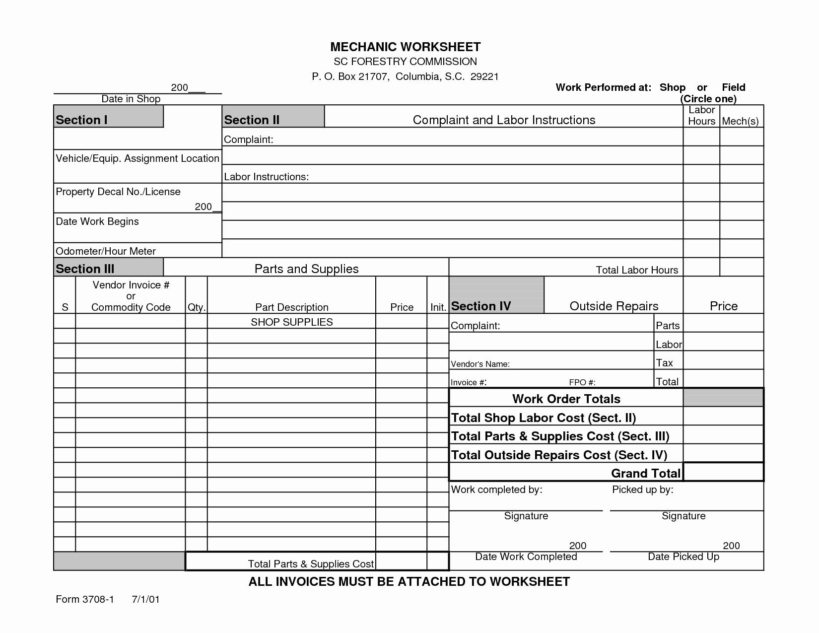 Mechanic Work order Template Beautiful 16 Best Of Outside the Box Worksheet People Bingo