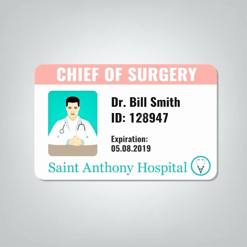 Medical Alert Card Template Luxury Medical Id Card Template Best Cosplay Templates