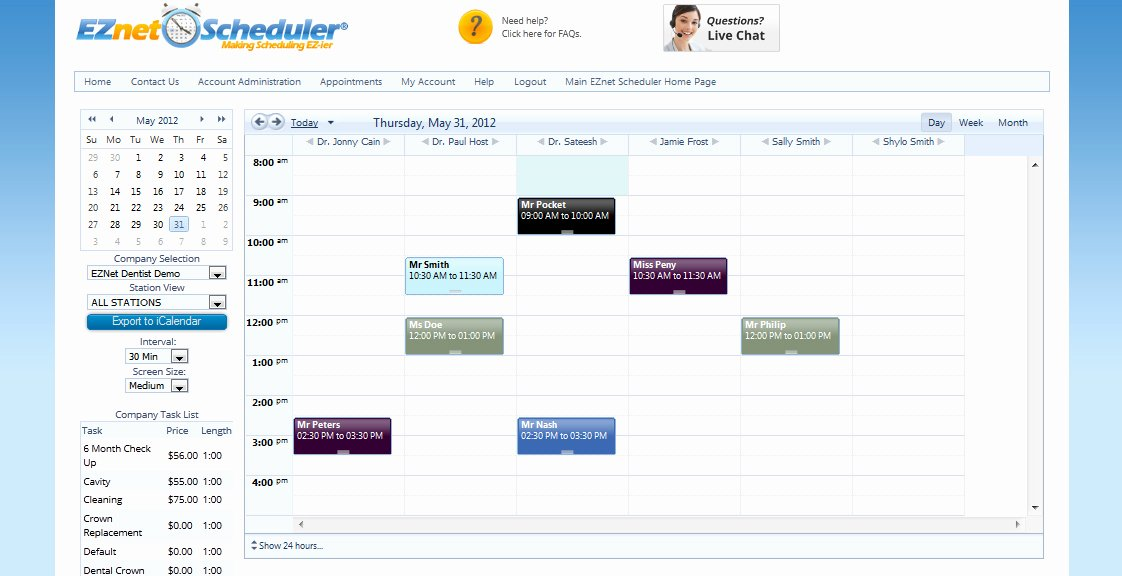 Medical Appointment Scheduling Template Beautiful Line Appointment Scheduling Program