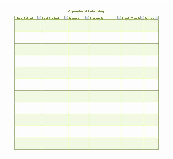 Medical Appointment Scheduling Template Luxury 21 Appointment Schedule Templates Doc Pdf