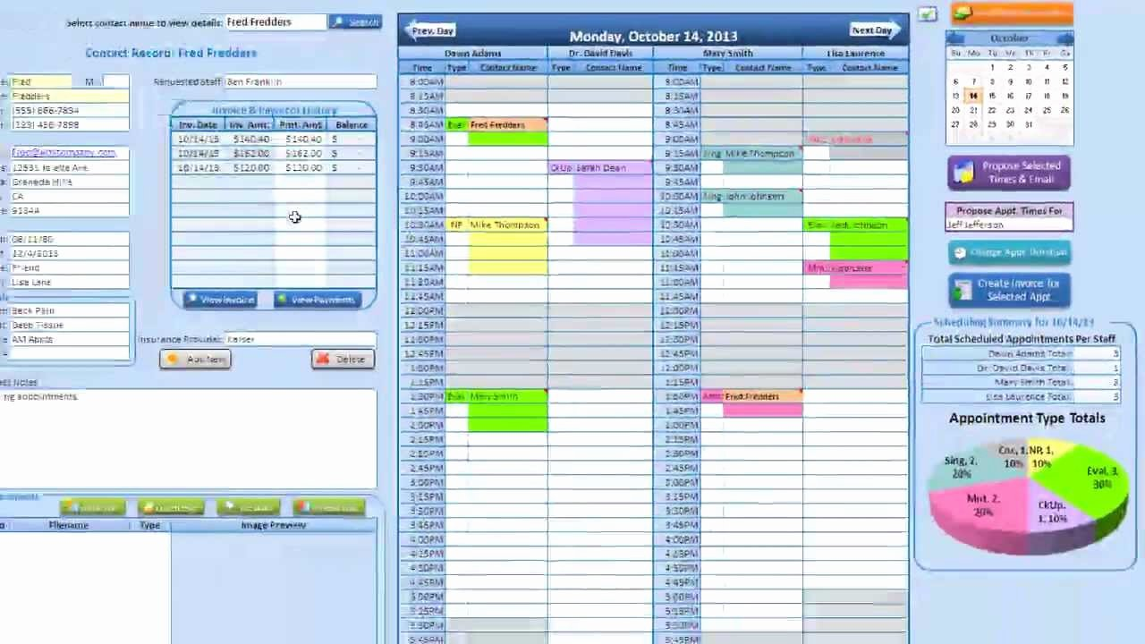 Medical Appointment Scheduling Template Luxury Medical Massage & Salon Scheduling Application Tutorial