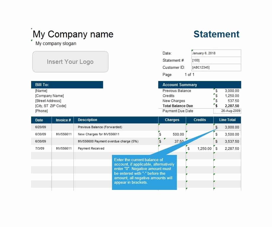 Medical Bill Statement Template Awesome 40 Billing Statement Templates [medical Legal Itemized