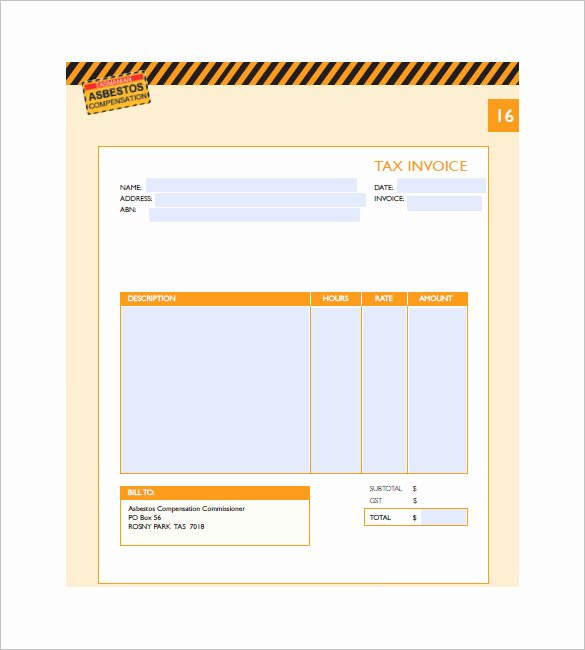 Medical Bill Template Pdf Lovely Medical Invoice Template 14 Free Word Excel Pdf