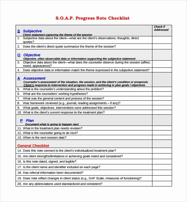 Medical Progress Notes Template Elegant 10 Progress Notes Templates