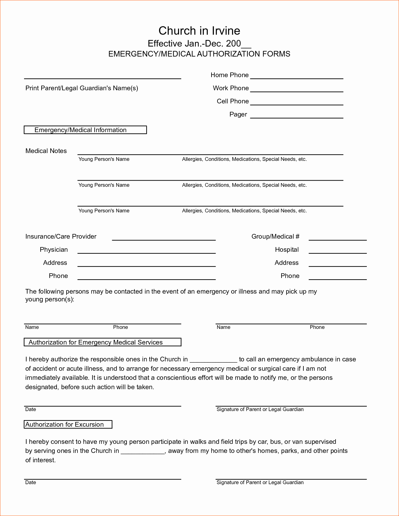 Medical Record forms Template Elegant 7 Medical Release form Template
