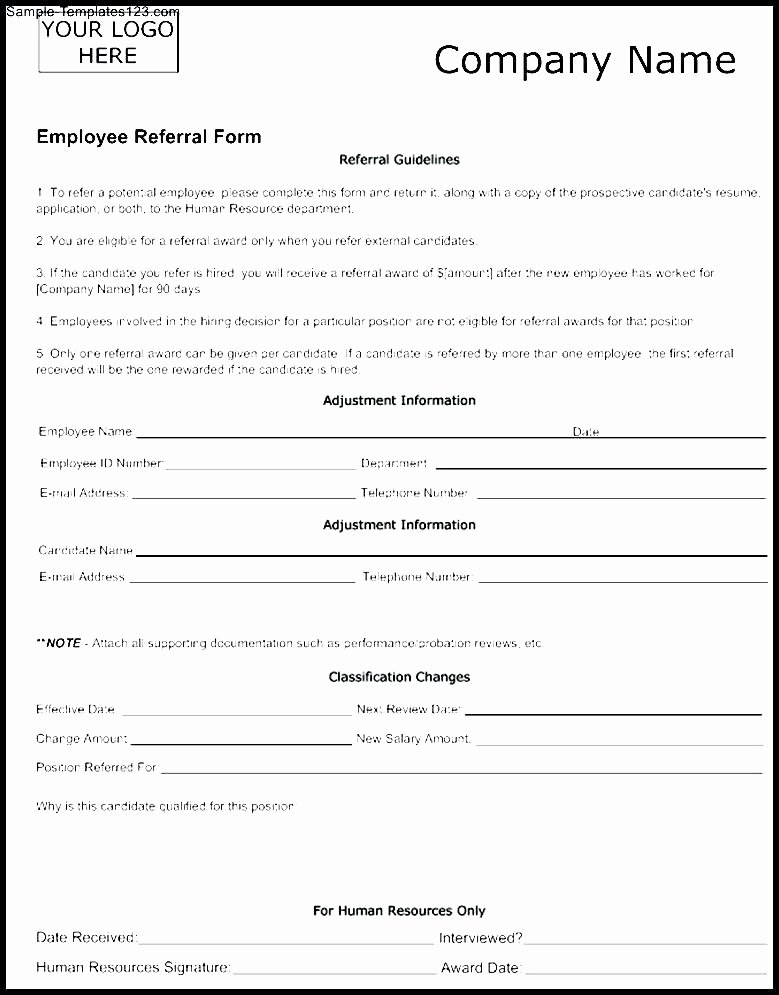 Medical Referral form Template Fresh Customer Referral form Template – Versatolelive