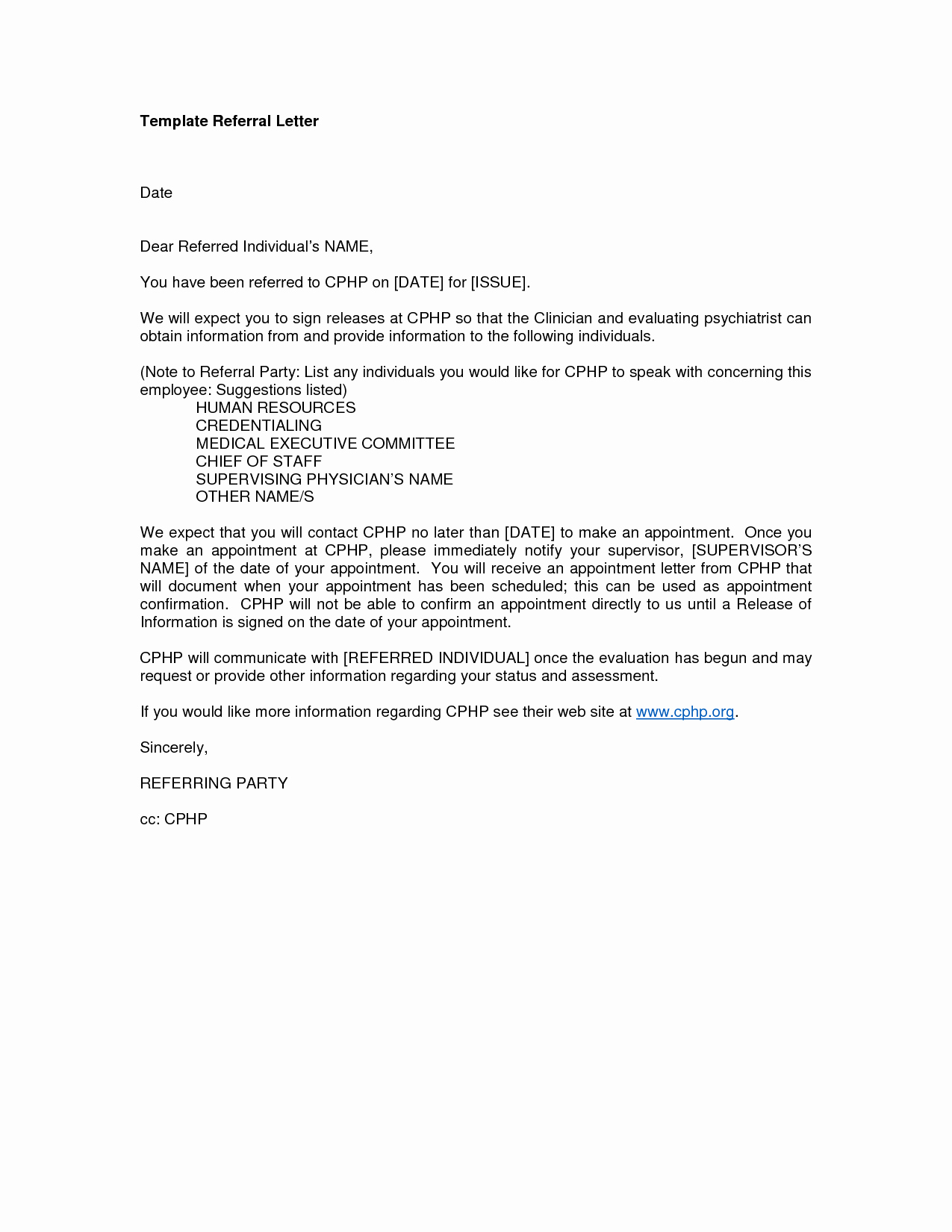 Medical Referral Letter Template Awesome Letter Template Category Page 147 Efoza