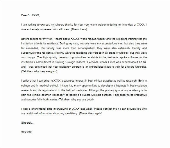 Medical Referral Letter Template Elegant Medical Thank You Letter – 9 Free Word Excel Pdf format