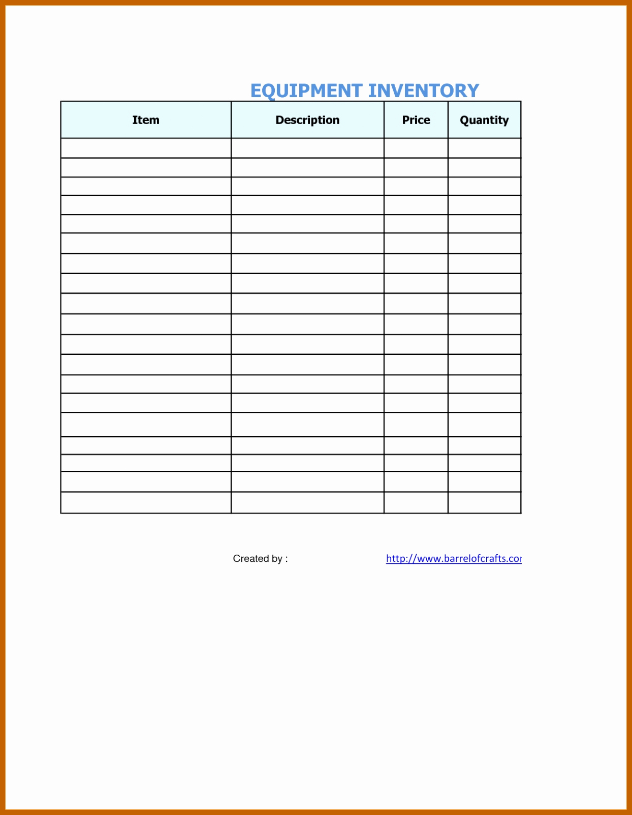 Medical Supply Inventory List Template Awesome 6 7 Supplies List Template