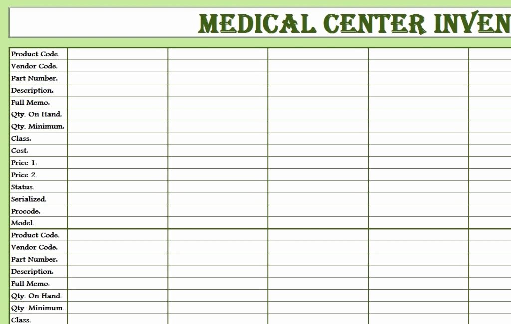 Medical Supply Inventory List Template New Medical Supply Inventory Template