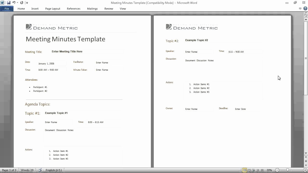 Meeting Action Items Template Awesome Meeting Minutes Template
