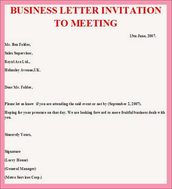 Meeting Invitation Email Template Beautiful 38 Meeting Invitation Designs Psd Ai Word Indesign