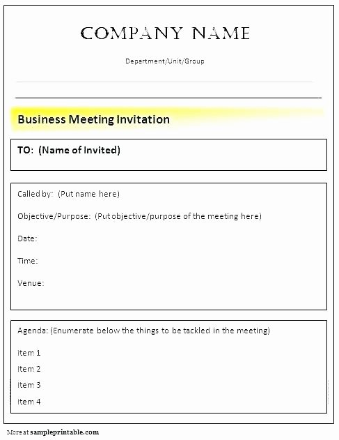 Meeting Invitation Email Template Unique Yellow and Blue Luncheon Invitation Team Lunch Email