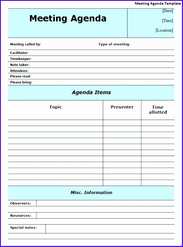 Meeting Minutes Template Excel Fresh 14 Minutes Meeting Template Excel Exceltemplates