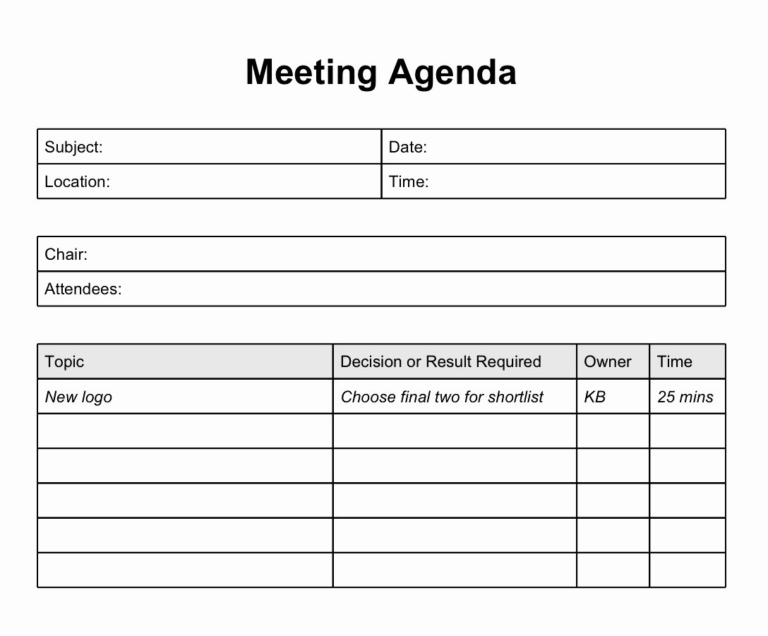 Meeting Note Template Word Awesome Best Meeting Agenda Template Mughals