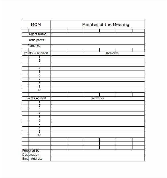 Meeting Note Template Word Fresh 44 Sample Meeting Minutes Template Google Docs Apple