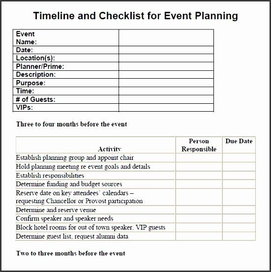 Meeting Planner Checklist Template Awesome 7 Printable Conference Planning Checklist