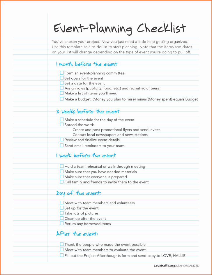 Meeting Planner Checklist Template Luxury Checklist event Planning Checklist Template