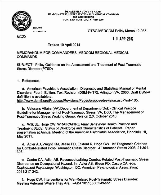 Memorandum Of Record Template Elegant Air force Memorandum Template Invitation Template