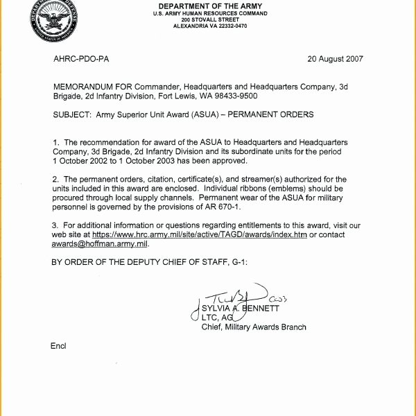 Memorandum Of Record Template Lovely 6 Memorandum for Record Army Card Authorization with