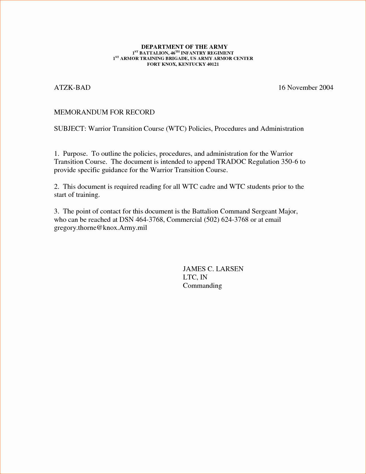 Memorandum Of Record Template Luxury 6 Memorandum for Record Example