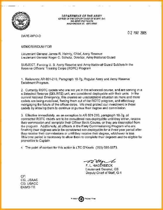 Memorandum Of Record Template New Memorandum for Record Army Template Examples Ficial Usaf