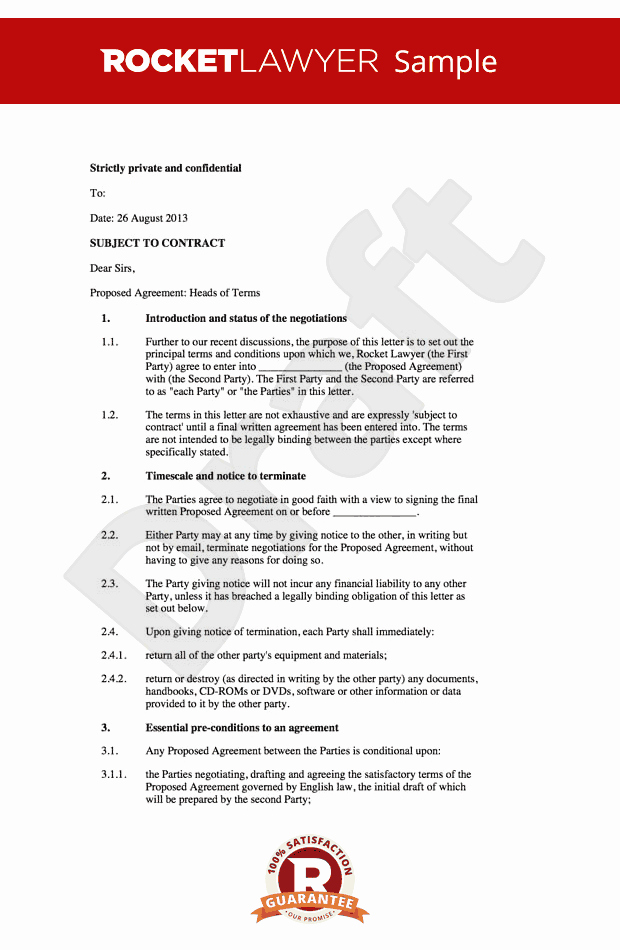 Memorandum Of Sale Template Awesome Letter Of Intent Loi Memorandum Of Understanding