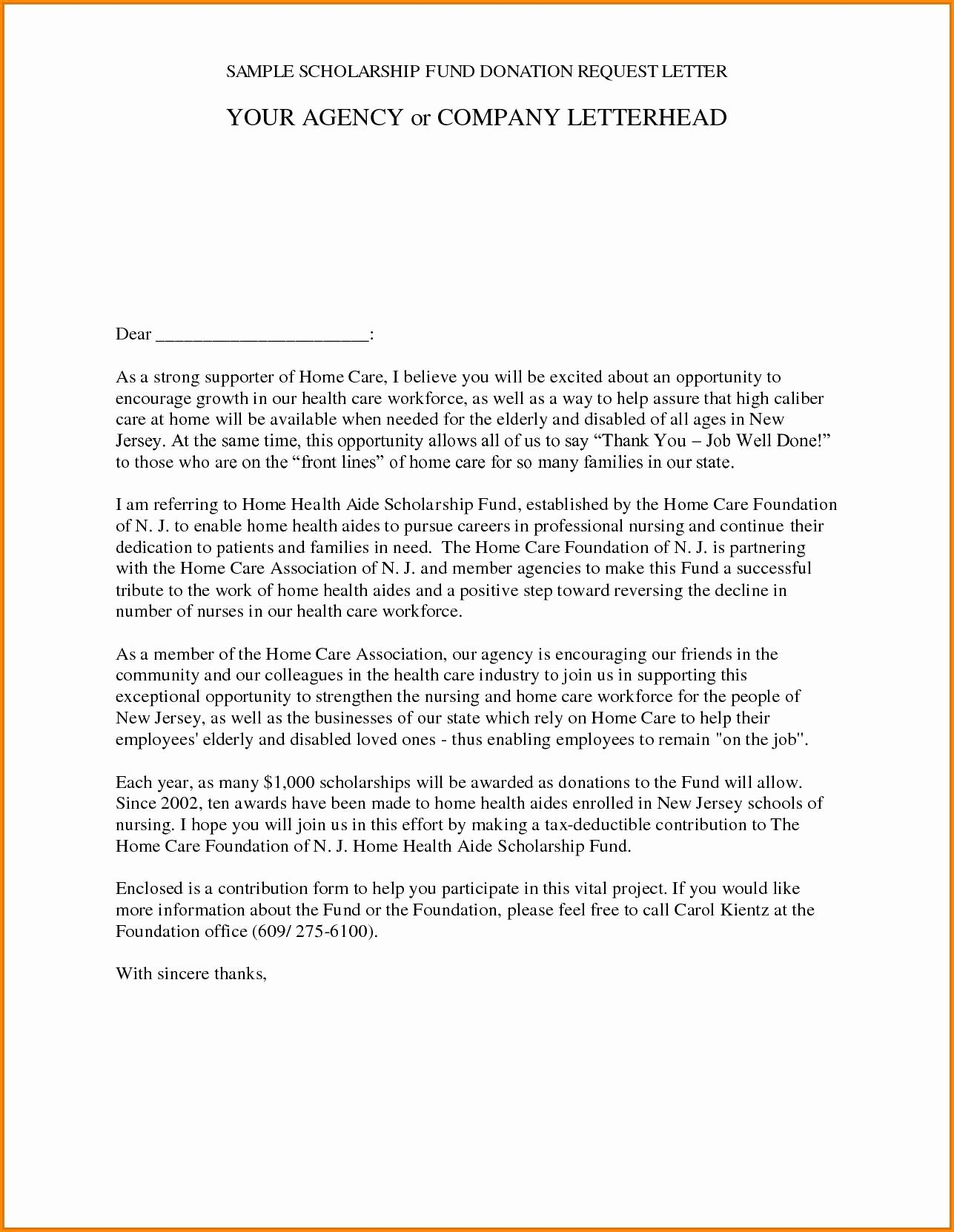 Memorial Donation Letter Template Awesome Memorial Donation Letter Template Samples