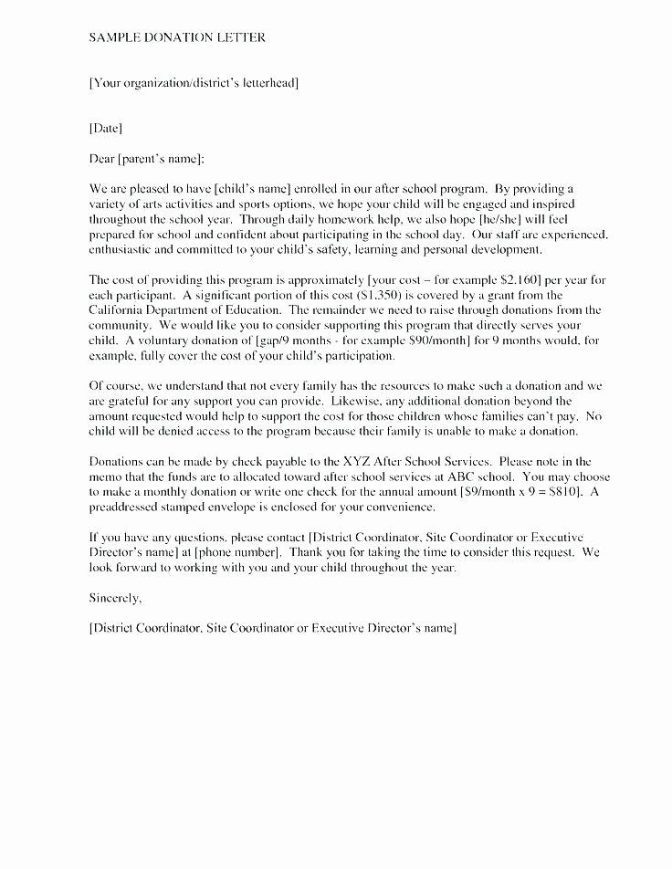 Memorial Donation Letter Template Awesome Memorial Letter Template – Fffwebfo