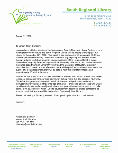 Memorial Donation Letter Template Inspirational How to Write A Letter asking for Donations From Business