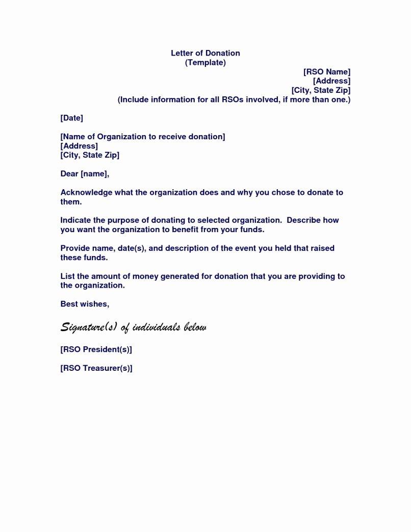 Memorial Donation Letter Template Luxury Baseball Fundraising Letter Templates