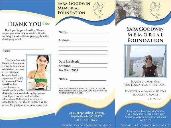 Memorial Pamphlet Template Free Elegant 17 Memorial Brochure Templates