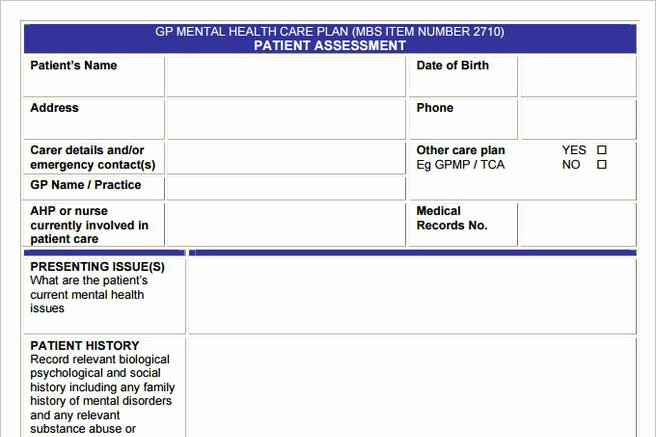 Mental Health Treatment Plan Template Awesome 3 Mental Health Care Plan Templates to Help You Be A